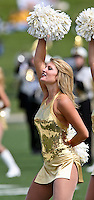 The Missouri Golden Girls entertain the crowd before the game with the Western Michigan Broncos at Memorial Stadium in Columbia, Missouri on September 15, 2007. The Tigers won 52-24.