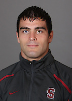 STANFORD, CA - OCTOBER 7:  Porfirio Diaz of the Stanford Cardinal during wrestling picture day on October 7, 2009 in Stanford, California.