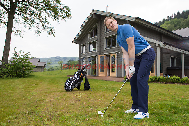 Celtic Manor Resort<br /> Dan Walker<br /> 27.05.16<br /> &copy;Steve Pope - Fotowales