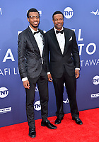 LOS ANGELES, USA. June 07, 2019: Chris Tucker & Destin Tucker at the AFI Life Achievement Award Gala.<br /> Picture: Paul Smith/Featureflash
