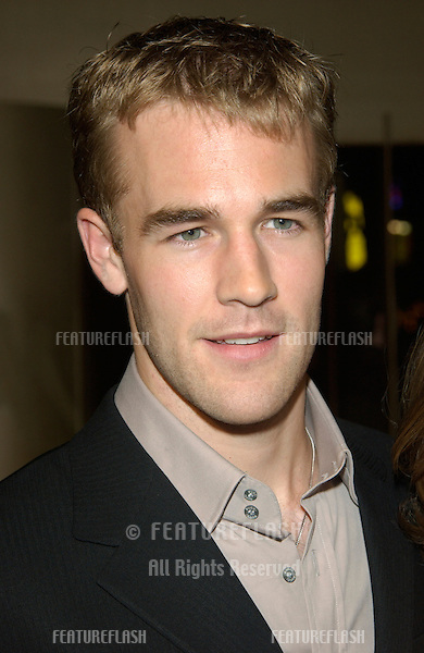 Actor JAMES VAN DER BEEK at the Los Angeles premiere of his new movie The Rules of Attraction..03OCT2002.  © Paul Smith / Featureflash