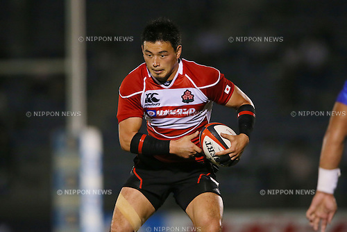 Ayumu Goromaru (JPN), <br /> MAY 30, 2014 - Rugby : <br /> Rugby test match <br /> between Japan 33-14 Samoa <br /> at Prince Chichibu Memorial Stadium in Tokyo, Japan. <br /> (Photo by YUTAKA/AFLO SPORT) [1040]