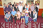 Amanda Sweeney and Mark O'Sullivan, Glenbeigh, pictured their families and friends as they celebrated their joint 21st's in The Manor Inn, Killorglin on Saturday night...............................................Christy O'Mahony, captain Beaufort Golf club and Irene McCarthy, Lady Captain Beaufort Golf Club pictured with James Lucey and Sheila McCarthy, who were the winners in their Captain Prize Competition at the course on Sunday. Also pictured are Frank Coffey, President, Sean Coffey, vice captain, Teresa Clifford, Margaret Guerin, Josephine O'Shea, Gretta Hurley, Renee Clifford, Peggy O'Riordan, Maureen Rooney, Mary Barrett, Robin Suter, Gearoid Keating, Jim Hurley, Gabhan O'Loughlin, Rory Browne, Mike Quirke, Matt Templeman and Simon Rainsford...Picture: Ger Cronin LMPA (087) 0522010....PR SHOT..NO REPRODUCTION FEE.............................................................................................................................................................................................................................................
