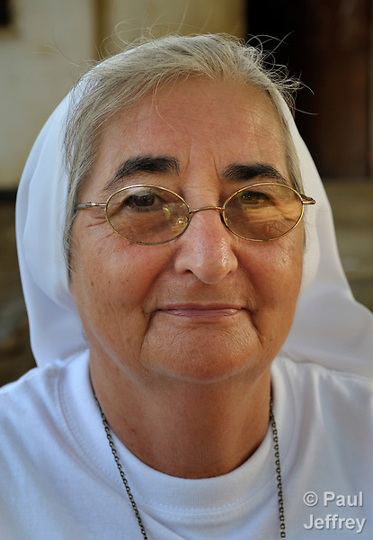 Sister Cleonice Salvadeo is an Italian Comboni sister working in South Sudan. She has long been a leader in peacebuilding and combating gender-based violence..