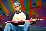 Ben Harper performs during the New Orleans Jazz & Heritage Festival in New Orleans, LA.