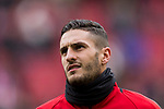 Jorge Resurreccion Merodio, Koke, of Atletico de Madrid warms up prior to the La Liga 2017-18 match between Atletico de Madrid and Girona FC at Wanda Metropolitano on 20 January 2018 in Madrid, Spain. Photo by Diego Gonzalez / Power Sport Images