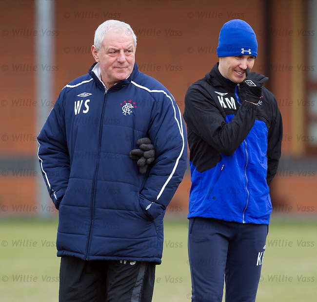 Walter Smith and Kenny Miller