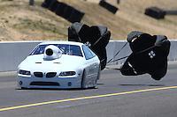 Jul. 27, 2013; Sonoma, CA, USA: NHRA top sportsman driver XXXX during qualifying for the Sonoma Nationals at Sonoma Raceway. Mandatory Credit: Mark J. Rebilas-