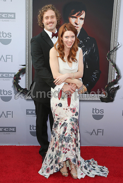 4 June 2015 - Hollywood, California - T.J. Miller, Kate Gorney. AFI 43rd Life Achievement Award Gala Tribute To Steve Martin held at the Dolby Theatre. Photo Credit: F. Sadou/AdMedia