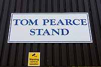 Tom Pearce stand main signage during Essex CCC vs Durham MCCU, English MCC University Match Cricket at The Cloudfm County Ground on 3rd April 2017