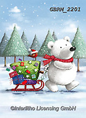 Roger, CHRISTMAS ANIMALS, WEIHNACHTEN TIERE, NAVIDAD ANIMALES, paintings+++++,GBRM2201,#xa#