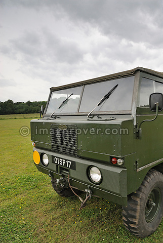 101 and power driven trailer prototype. Dunsfold Collection Open Day 2009. NO RELEASES AVAILABLE.