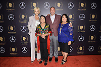 NEW YORK - MAY 18: Janet Macgillivray, Dolores Huerta, Brian Benson and Alicia Huerta attend the 78th Annual Peabody Awards at Cipriani Wall Street on May 18, 2019 in New York City. (Photo by Anthony Behar/FX/PictureGroup)