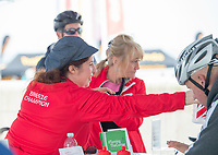 Picture by Allan McKenzie/SWpix.com - 24/09/2017 - Cycling - HSBC UK City Ride Liverpool - Albert Dock, Liverpool, England - Volunteer.