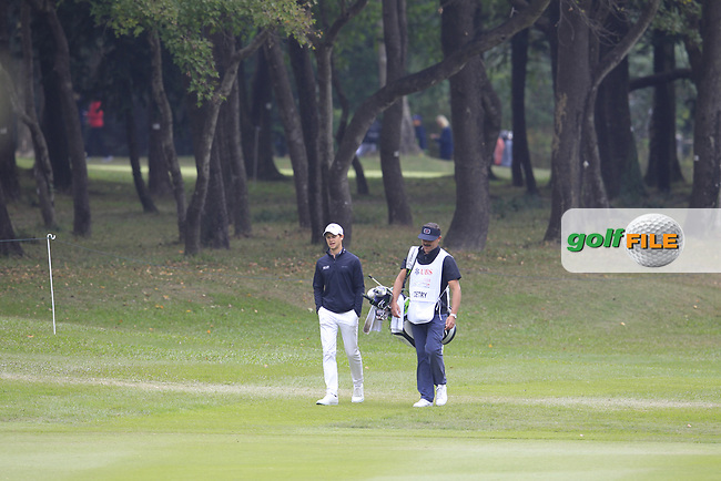 Thomas Detry (BEL) on the 4th fairway during Round 3 of the UBS Hong Kong Open, at Hong Kong golf club, Fanling, Hong Kong. 25/11/2017<br /> Picture: Golffile | Thos Caffrey<br /> <br /> <br /> All photo usage must carry mandatory copyright credit     (&copy; Golffile | Thos Caffrey)
