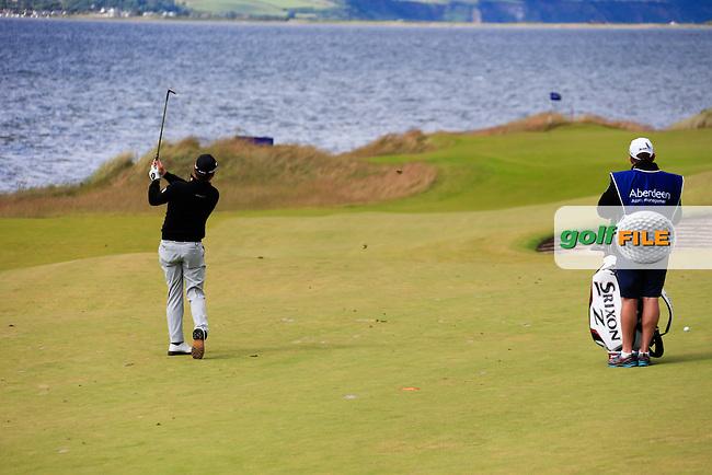 Graeme McDowell (NIR) during round 2 of the Aberdeen Asset Management Scottish Open 2016, Castle Stuart  Golf links, Inverness, Scotland. 08/07/2016.<br /> Picture Fran Caffrey / Golffile.ie<br /> <br /> All photo usage must carry mandatory copyright credit (&copy; Golffile   Fran Caffrey)