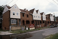 1986 August ..Conservation.Central Brambleton...801-821 MARSHALL AVENUE.AFTER REHAB...NEG#.NRHA#..