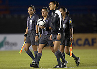 Referees.. USWNT vs Costa Rica in the 2010 CONCACAF Women's World Cup Qualifying tournament held at Estadio Quintana Roo in Cancun, Mexico on November 1st, 2010.