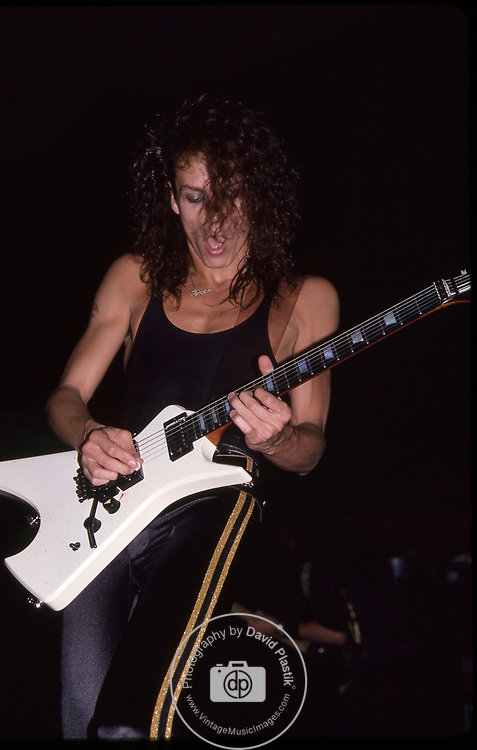 Chris DeGarmo of Queensryche 1986