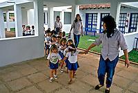 Crianças na escola. Araxa. Minas Gerais. 1992. Foto de Juca Martins.