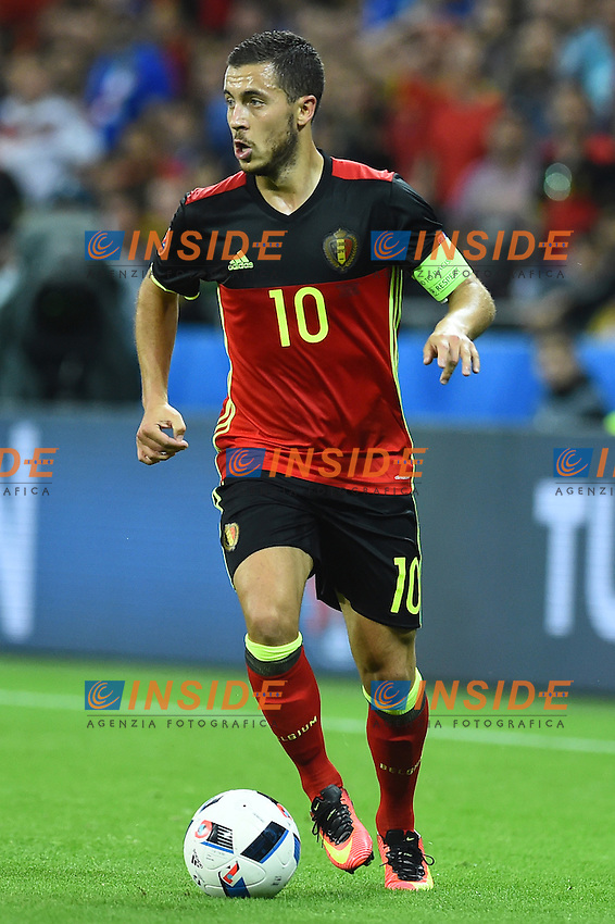Eden Hazard Belgium <br /> Lyon 13-06-2016 Grand Stade de Lyon Football Euro2016 Belgium-Italy / Belgio-Italia Group Stage Group E. Foto Massimo Insabato / Insidefoto