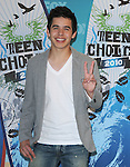David Archuleta at Fox Teen Choice 2010 Awards held at he Universal Ampitheatre in Universal City, California on August 08,2010                                                                                      Copyright 2010 © DVS / RockinExposures