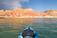 kayaking on lake powell