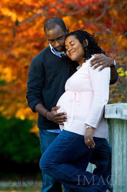 Photo by Artisan Photography Group - 7/15/2010 - Pregnancy  portrait of Lanita and James Goins.