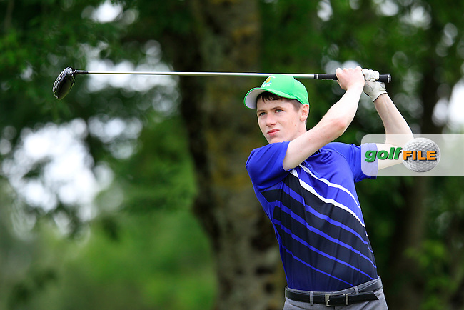 John Molyneaux (Ballybunion) taking part in the Connacht Boys U18 Open, Roscommon Golf Club, Roscommon, Co Roscommon.<br /> Picture: Golffile \ Fran Caffrey