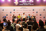 Sports Legends Press Conference on the sidelines of the World Celebrity Pro-Am 2016 Mission Hills China Golf Tournament on 22 October 2016, in Haikou, China. Photo by Weixiang Lim / Power Sport Images