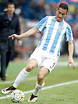 Malaga CF's Charles Dias during La Liga match. April 23,2016. (ALTERPHOTOS/Acero)