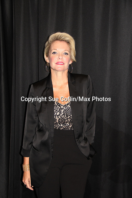 """General Hospital's actor Maura West """"Ava Jerome"""" on October 5, 2019 at the Hollywood Casino, Columbus, Ohio with a Q & A and a VIP meet and greet. (Photo by Sue Coflin/Max Photo)"""