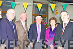 Minister for Education Batt O'Keeffe meet the staff at the opening of new extension in Coolick NS on Friday morning l-r: Neil O'Sullivan Board of Management, John O'Donoghue TD, Minister Batt O'Keeffe and Irene O'Keeffe Principal