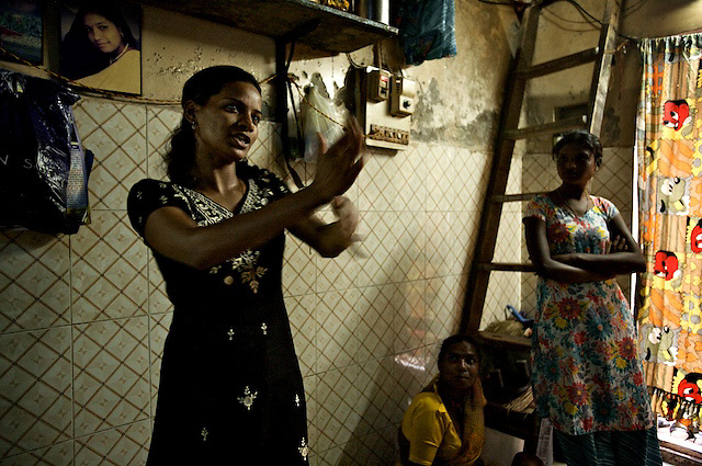 Jyoti used to dance for money in a bar, until the government closed it down over three years ago.