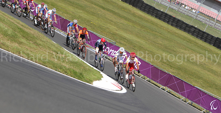 Paralympics London 2012 - ParalympicsGB - Cycling Road..  .Men's Individual C 4-5 Road Race 6th September 2012 held at Brands Hatch,  Paralympic Games in London. Photo: Richard Washbrooke/ParalympicsGB)