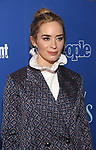 Emily Blunt attends a screening of 'Mary Poppins Returns' hosted by The Cinema Society at SVA Theater on December 17, 2018 in New York City.