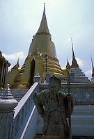 Guard statue, Grand Palace, Bangkok, Thailand