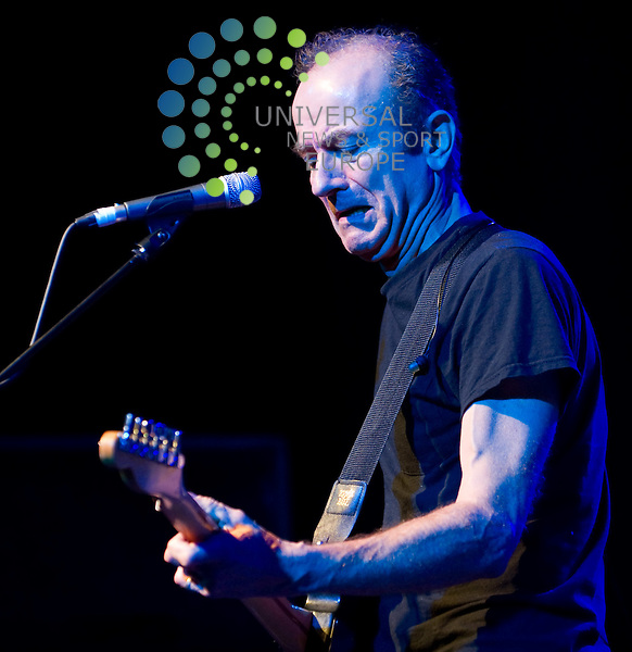 Hugh Cornwell, former frontman of the Stranglers plays his Guilty album at the O2 ABC, Glasgow, before playing some classic Stranglers songs on 9 April 2011, Picture: Al Goold/Universal News and Sport (Europe) 2011.