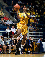 Reshanda Gray of California shoots the ball during the game against St. Mary's at Haas Pavilion in Berkeley, California on November 15th, 2012.  California defeated St. Mary's, 89-41.