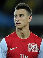 FUSSBALL   CHAMPIONS LEAGUE   SAISON 2011/2012  Borussia Dortmund - Arsenal London        13.09.2001 Laurent Koscielny (Arsenal Arsenal)