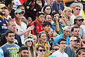 (U to D) <br /> Yoshikazu Fujita, <br /> Chihito Matsui, <br /> AUGUST 11, 2016 - / Rugby Sevens : <br /> Men's Semi-final <br /> between Fiji 20-5 Japan <br /> at Deodoro Stadium <br /> during the Rio 2016 Olympic Games in Rio de Janeiro, Brazil. <br /> (Photo by YUTAKA/AFLO SPORT)