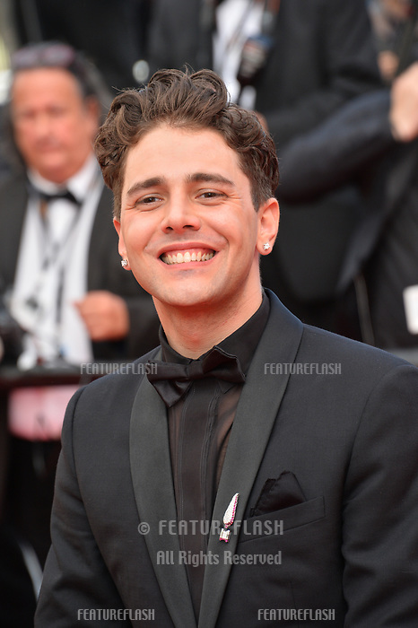 """CANNES, FRANCE. May 22, 2019: Xavier Dolan  at the gala premiere for """"Oh Mercy!"""" at the Festival de Cannes.<br /> Picture: Paul Smith / Featureflash"""