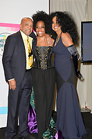 Diana Ross &amp; Barry Gordy &amp; daughter Rhonda at the 2017 American Music Awards at the Microsoft Theatre LA Live, Los Angeles, USA 19 Nov. 2017<br /> Picture: Paul Smith/Featureflash/SilverHub 0208 004 5359 sales@silverhubmedia.com