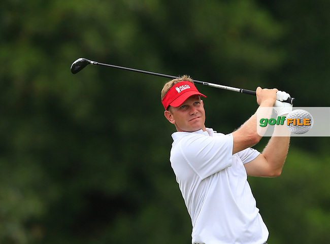 Billy Hurley III (USA) on the 7th tee during Round 2 of the CIMB Classic in the Kuala Lumpur Golf &amp; Country Club on Friday 31st October 2014.<br /> Picture:  Thos Caffrey / www.golffile.ie