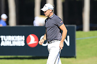 Danny Willett (ENG) on the 10th green during Thursday's Round 1 of the 2018 Turkish Airlines Open hosted by Regnum Carya Golf &amp; Spa Resort, Antalya, Turkey. 1st November 2018.<br /> Picture: Eoin Clarke | Golffile<br /> <br /> <br /> All photos usage must carry mandatory copyright credit (&copy; Golffile | Eoin Clarke)