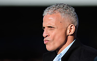 Northampton Town manager Keith Curle<br /> <br /> Photographer Chris Vaughan/CameraSport<br /> <br /> The EFL Sky Bet League Two - Lincoln City v Northampton Town - Saturday 9th February 2019 - Sincil Bank - Lincoln<br /> <br /> World Copyright &copy; 2019 CameraSport. All rights reserved. 43 Linden Ave. Countesthorpe. Leicester. England. LE8 5PG - Tel: +44 (0) 116 277 4147 - admin@camerasport.com - www.camerasport.com