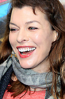 "LOS ANGELES - FEB 2:  Milla Jovovich at ""The Lego Movie 2: The Second Part"" Premiere at the Village Theater on February 2, 2019 in Westwood, CA"