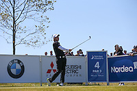 Emiliano Grillo (ARG) plays down the 4th during Round Two of the 2015 Nordea Masters at the PGA Sweden National, Bara, Malmo, Sweden. 05/06/2015. Picture David Lloyd | www.golffile.ie