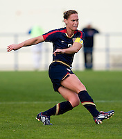 Christie Rampone.  The USWNT defeated Iceland, 1-0, at Ferreiras, Portugal.
