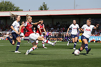 Leonie Maier of Arsenal goes close during Arsenal Women vs Tottenham Hotspur Women, Friendly Match Football at Meadow Park on 25th August 2019